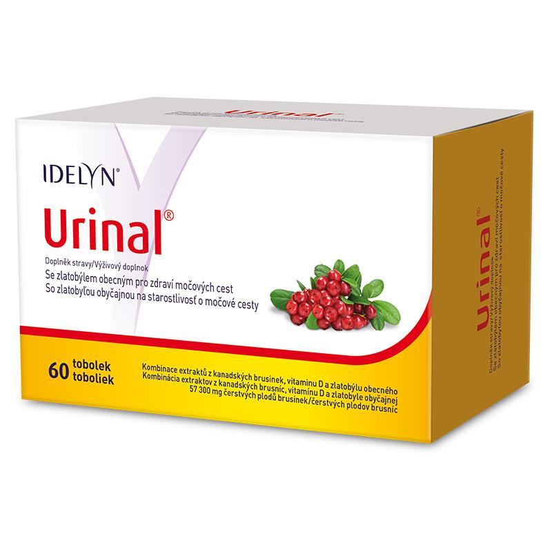 Levně Urinal se zlatobýlem 60 tobolek