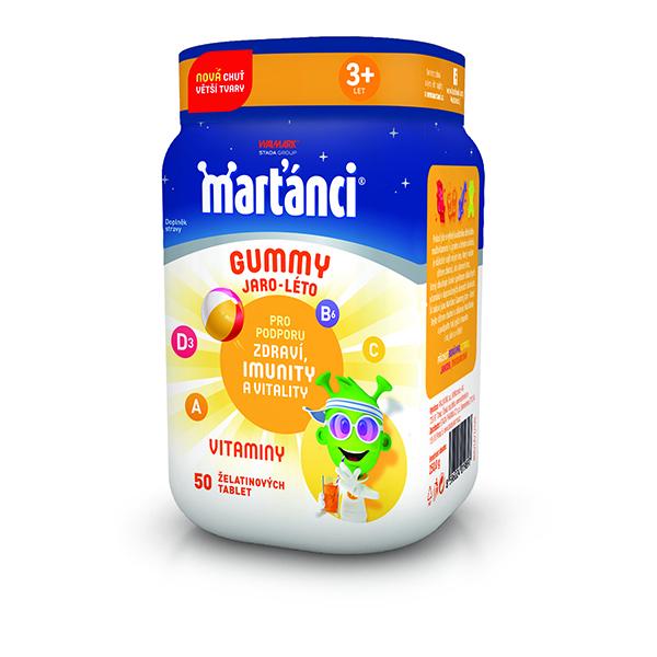 Levně Marťánci Gummy Jaro - léto 50 gummies