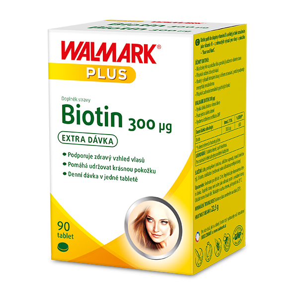 Levně Biotin 300 µg 90 tablet