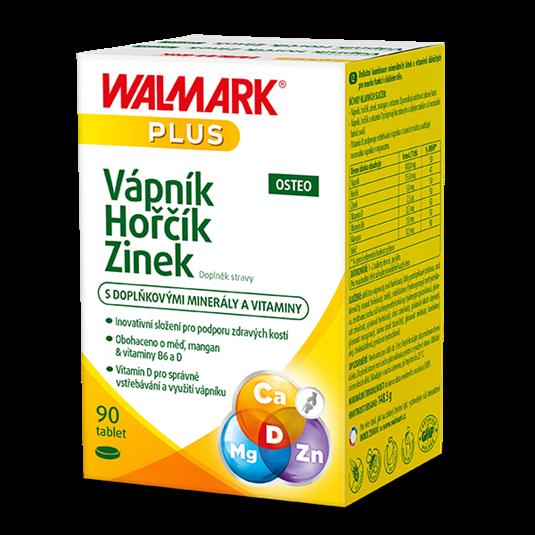 Vápník Hořčík Zinek OSTEO 90 tablet